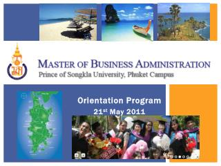 Orientation Program 21 st  May 2011
