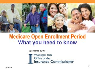 SHIBA Statewide Health Insurance Benefits Advisors Medicare Open Enrollment Period What you need to know