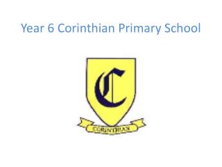 Year 6 Corinthian Primary School
