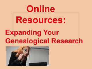 Online Resources: