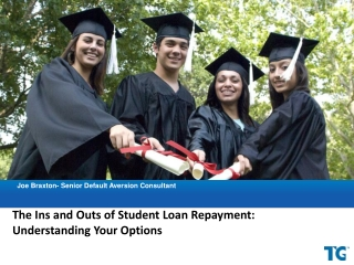 The Ins and Outs of Student Loan Repayment:  Understanding Your Options