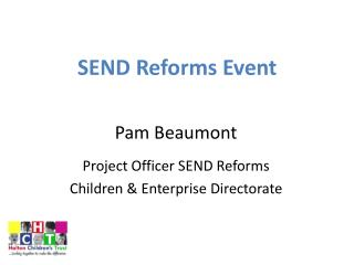 SEND Reforms Event
