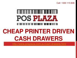 Cheap Printer Driven Cash Drawers
