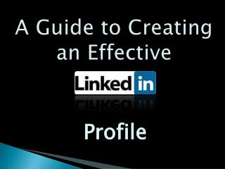 A Guide to Creating an Effective