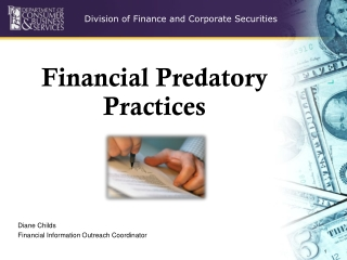 Financial Predatory Practices