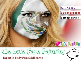Expert In Body Paint Melbourne
