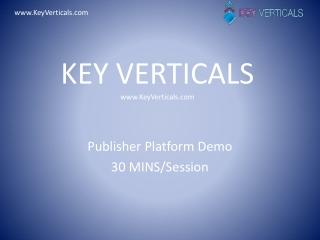 KEY VERTICALS www.KeyVerticals.com