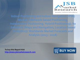 Indoor Positioning and Indoor Navigation (IPIN) Market