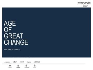 AGE OF GREAT CHANGE IAMAI JUNE 2013 MUMBAI