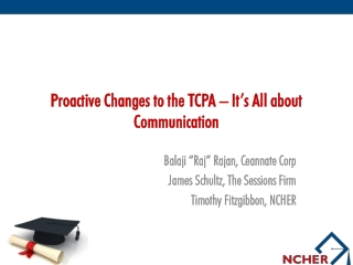 Proactive Changes to the TCPA – It's All about Communication