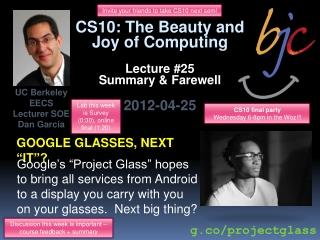 "Google glasses, next ""it""?"