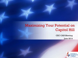 Maximizing Your Potential on Capitol Hill
