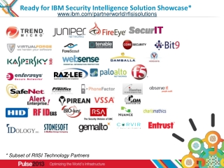 Ready for IBM Security Intelligence Solution Showcase*