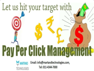 Pay Per Click Marketing- Martand Technologies