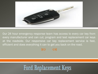 Ford Replacement Keys