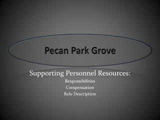 Pecan Park Grove