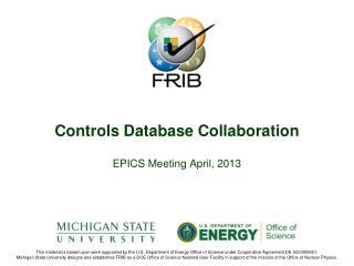 Controls Database Collaboration