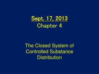 Sept.  17, 2013 Chapter  4