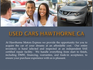 South Bay Car Dealers