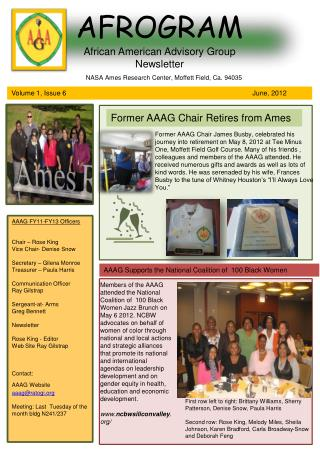 AFROGRAM African American Advisory Group  Newsletter