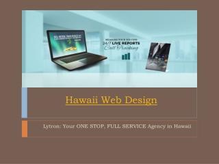 Hawaii Web Design