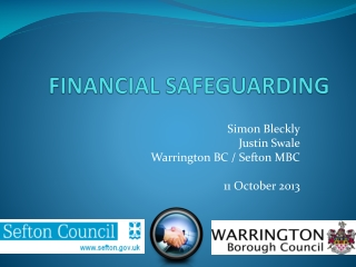 FINANCIAL SAFEGUARDING