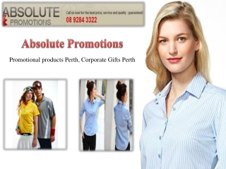 PROMOTE YOUR BRAND NAME BY PROMOTIONAL PRODUCTS PERTH