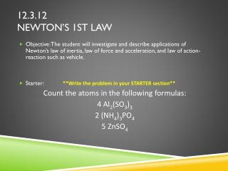 12.3.12 newton's 1st Law