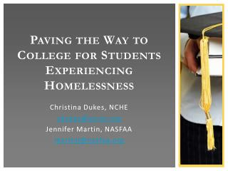 Paving the Way to College for Students Experiencing Homelessness