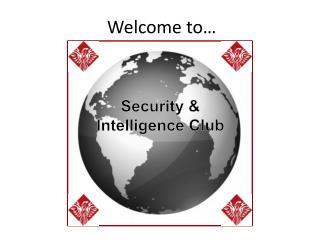 Security & Intelligence Club