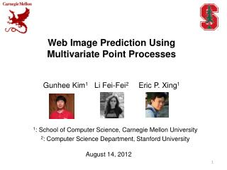 Web Image Prediction Using Multivariate Point Processes