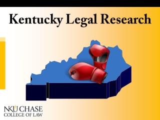 Kentucky Legal Research