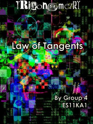 Law of Tangents