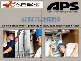 AVAIL EMERGENCY PLUMBING SERVICES IN SYDNEY