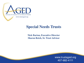 www.trustaged.org 407-682-4111