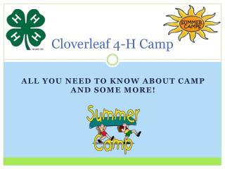 Cloverleaf 4-H Camp