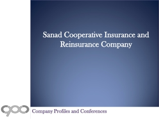 Sanad Cooperative Insurance and Reinsurance Company - Compan