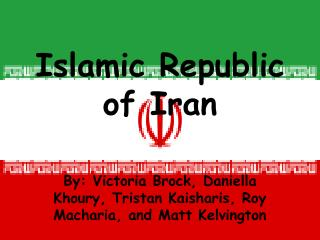 Islamic Republic of Iran