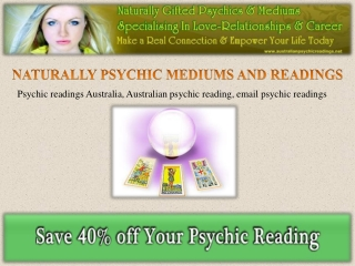 Refresh Yourself By Psychic Reading Australia