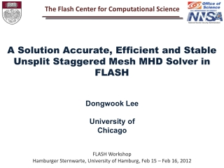 FLASH Workshop Hamburger  Sternwarte , University of Hamburg, Feb 15 – Feb 16, 2012