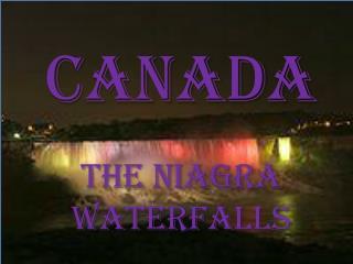 THE niagra  waterfalls