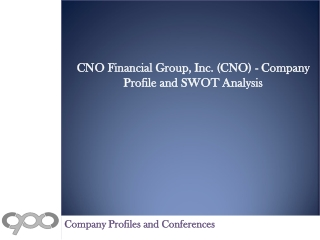 CNO Financial Group, Inc. (CNO) - Company Profile and SWOT A