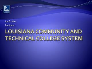 Louisiana Community and Technical College System