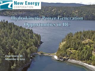 Hydrokinetic Power Generation Opportunities in BC