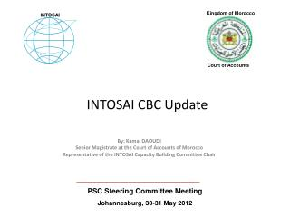 INTOSAI CBC Update