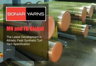 MN and FB Global The Latest Development  in Athletic Field  Synthetic Turf  Yarn  Specification 2013