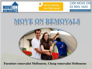 Relocate By A Cheap Removalist Melbourne