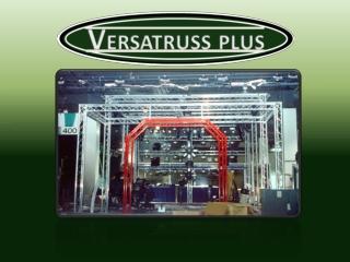 VersaTruss Plus Specializes in Custom Exhibit Display Truss