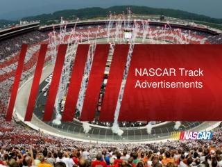 NASCAR Track Advertisements