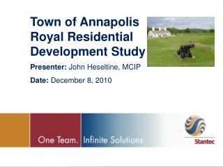 Town of Annapolis Royal Residential Development Study